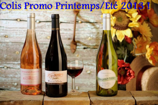 Promotion Printemps/Eté 2013 !